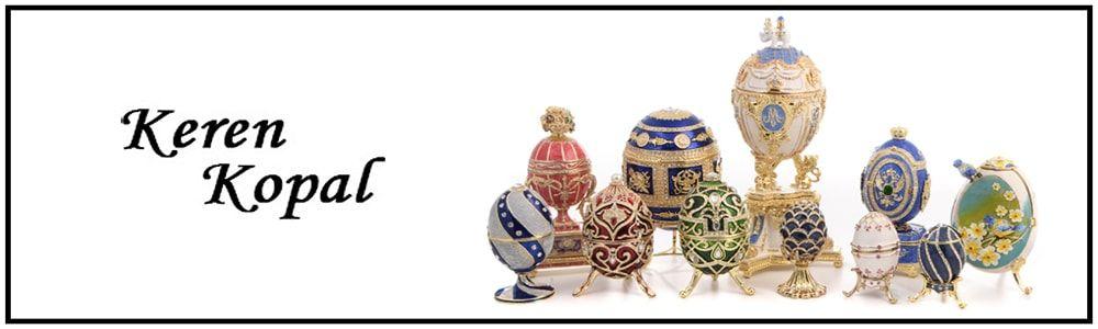 Keren Kopal   Faberge Eggs   Trinket Boxes   Music Carousels   The French Shoppe